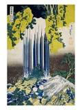 The Yoro Falls in Mino Province  from the Series A Journey to the Waterfalls of All the Provinces