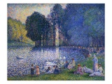 The Lake of the Forest of Boulogne