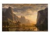 Vallée du Yosemite Giclée par Albert Bierstadt