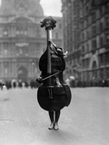 Walking Violin in Philadelphia Mummers&#39; Parade  1917