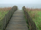 Wooden Walkway to Beach