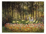 Wooded Scene Giclée par Claude Monet