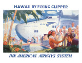 Hawaii by Flying Clipper  Pan American Airways System