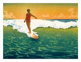 The Duke  Hawaiian Duke Kahanamoku Surfing c1918