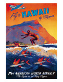 Pin-up Hawaii Giclée par M. Von Arenburg