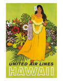 United Air Lines  Hawaii  The Lei Offering