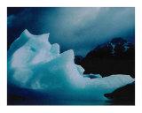 Iceberg  Lago Grey  Chile
