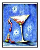Three Mermaid Martini