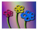 Pinwheel Flowers In Pastel