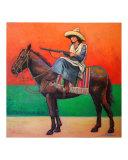 """""""Libertador 1927"""" Horse & Woman Mexico"""