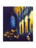 Violins and church