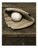 Vintage Ball & Glove