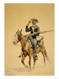 A Mounted Infantryman  1890