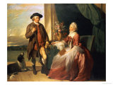 Mr Robert Grafton and Mrs Mary Partridge Wells Grafton  1773