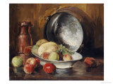 Still Life with Fruit and Copper Pot