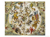 Atlas Coelestis Seu Harmonia Macrocosmica  18th Century