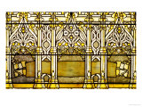 A &quot;Jeweled&quot; Leaded Glass Window  1898