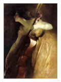 A Ray of Sunlight (The Cellist)  1898