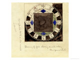 Design for Clock Face  1917