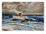 Rowing at Prout&#39;s Neck  1887
