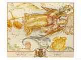 Uranographia  or the Celestial Atlas  circa 1800