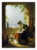 Mothers Lessons  Amalfi  1857