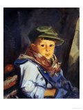 Boy with Green Cap (Chico)  1922