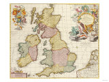 Composite Atlas of Great Britain  circa 1760