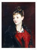 Portrait of Madamoiselle Suzanne Poirson  1884