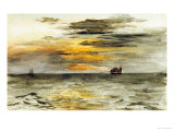 Sunrise off Japan  1886