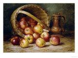 A Basket of Apples Giclée par August Laux