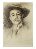 Portrait of Ramacho Ortigao  1903