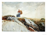 Down the Cliff  1883