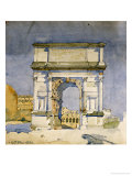 Rome  Arch of Titus  1891