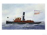 M Moran Tug Boat  1901