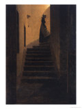 Caroline on the Stairs  1825