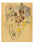 Mont Louis  Flower Study  1925