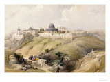 View of Jerusalem  Early 19th Century