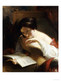 Portrait of a Girl Reading  1842