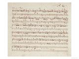 Autographed Manuscript of Valse Opus 70 No1 in G Flat Major
