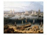 Boston Harbor  1843