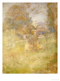 Landscape with Haystack