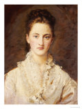 Portrait of the Artist&#39;s Daughter  Mary  Half Length  circa 1875