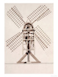 Drawings for Windmills  Dated 1814-17