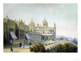 Vorontsov Palace at Alupka  Yalta  Crimea  1843