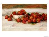 Fraises Giclée par Pierre-Auguste Renoir