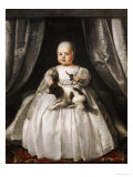 Portrait of King Charles II as a Child  French School  circa 1630