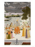 Krishna with the Gopis  Rajesthan  Possibly Bikaner  circa 1760