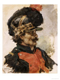 A French Soldier  1876