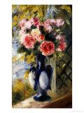Roses in a Blue Vase  1892